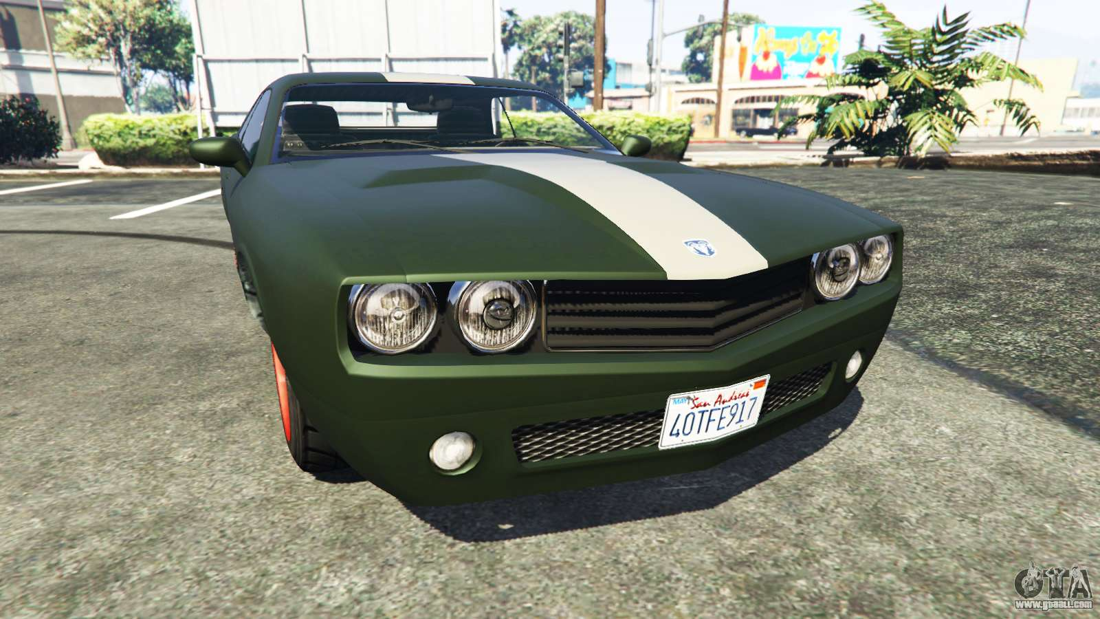 Bravado Gauntlet Dodge Challenger for GTA 5