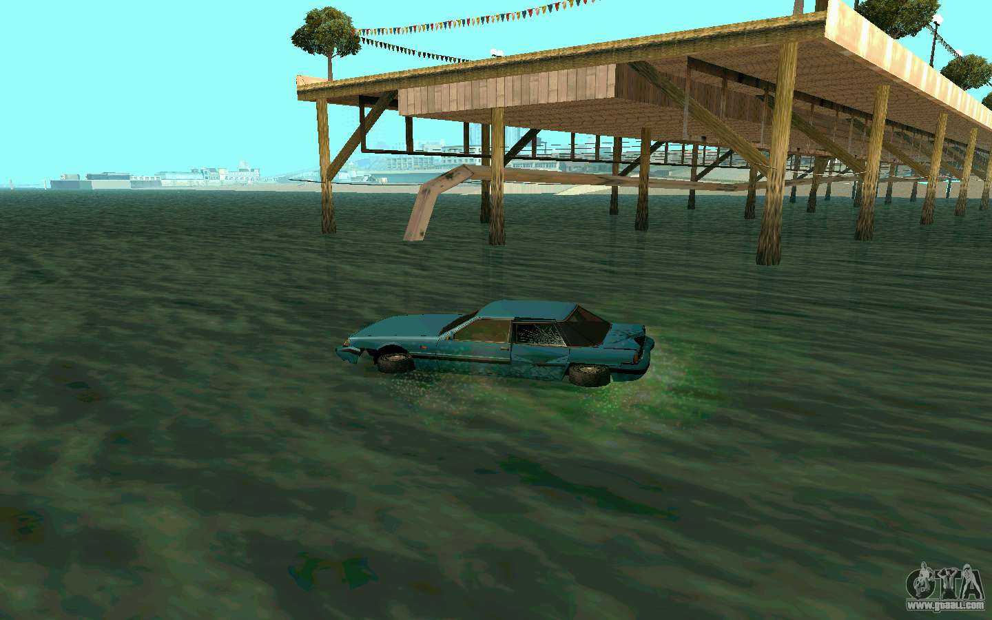 Cars Water for GTA San Andreas