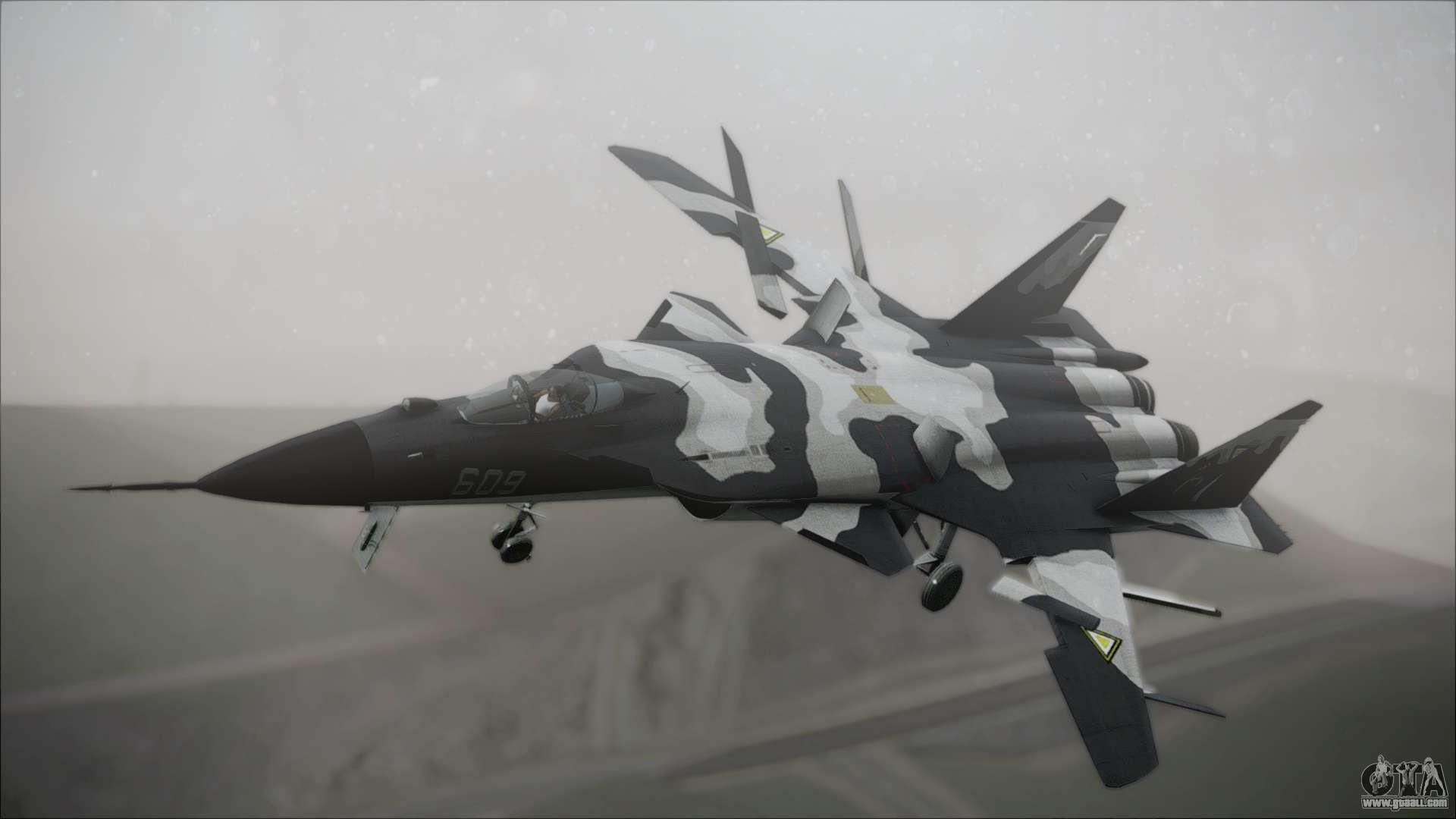 SU-47 Berkut Grabacr Ace Combat 5 for GTA San Andreas