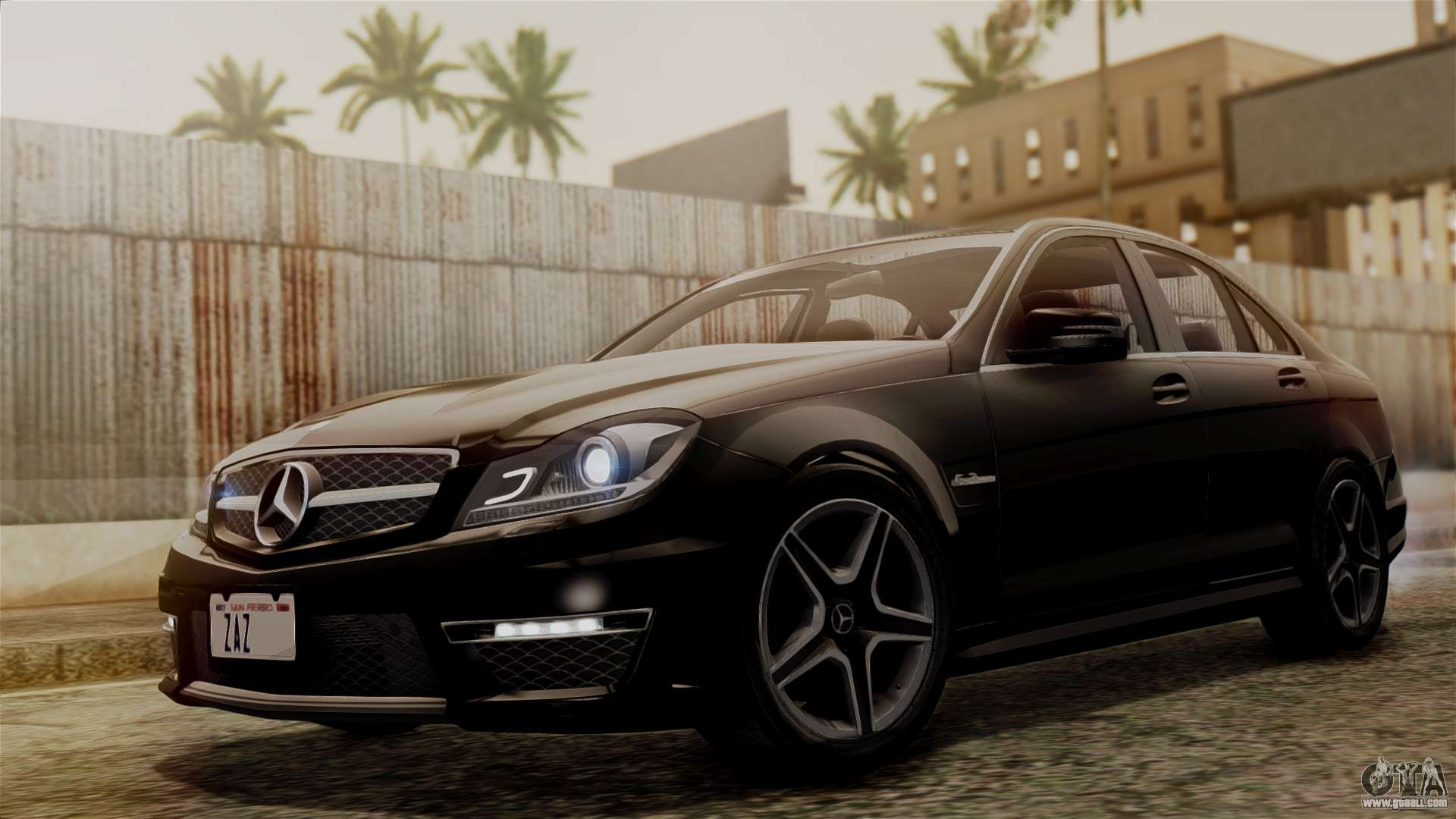 Mercedes-Benz C63 AMG 2015 Edition One for GTA San Andreas