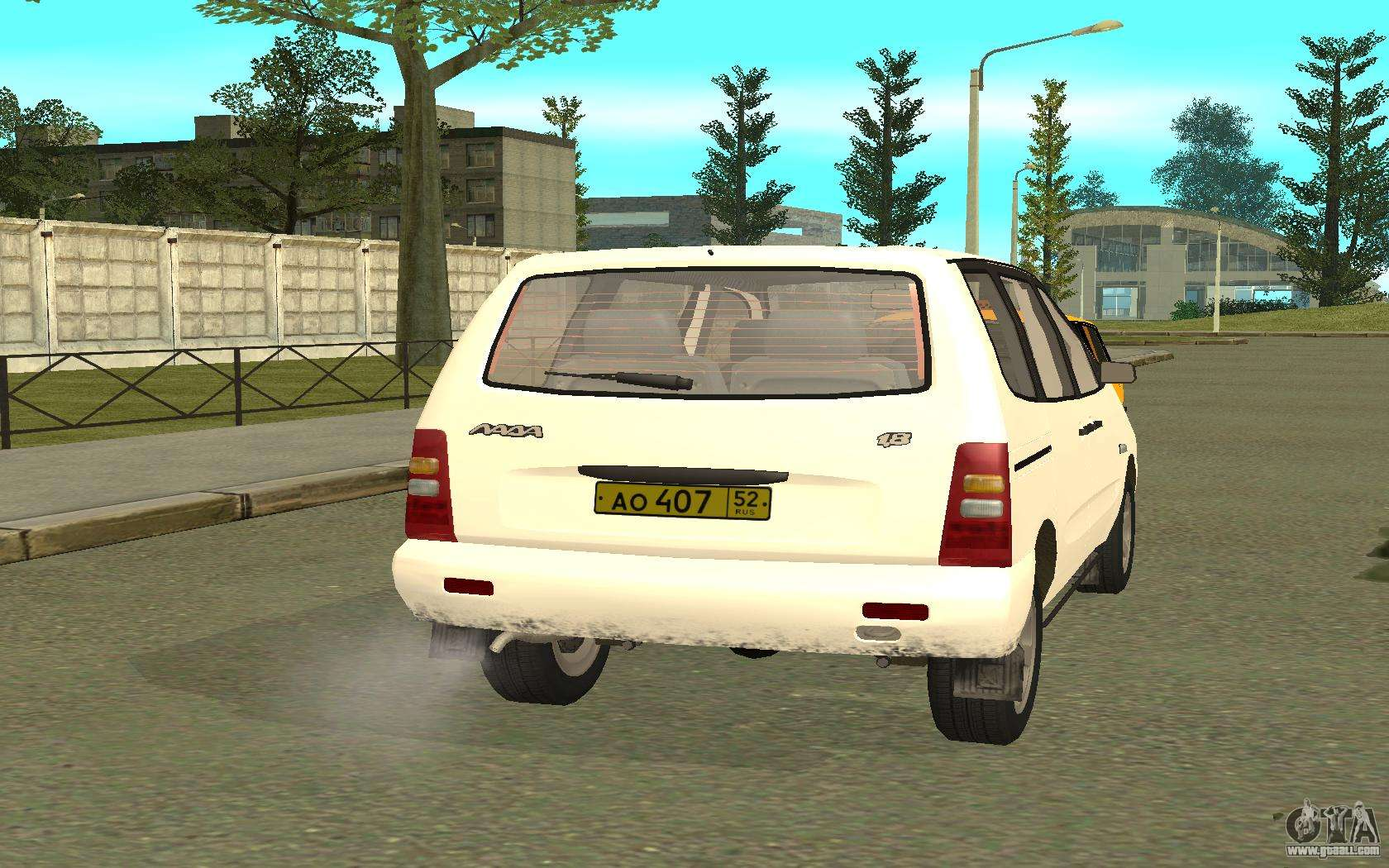 VAZ 2120 - the car is not for drift 97