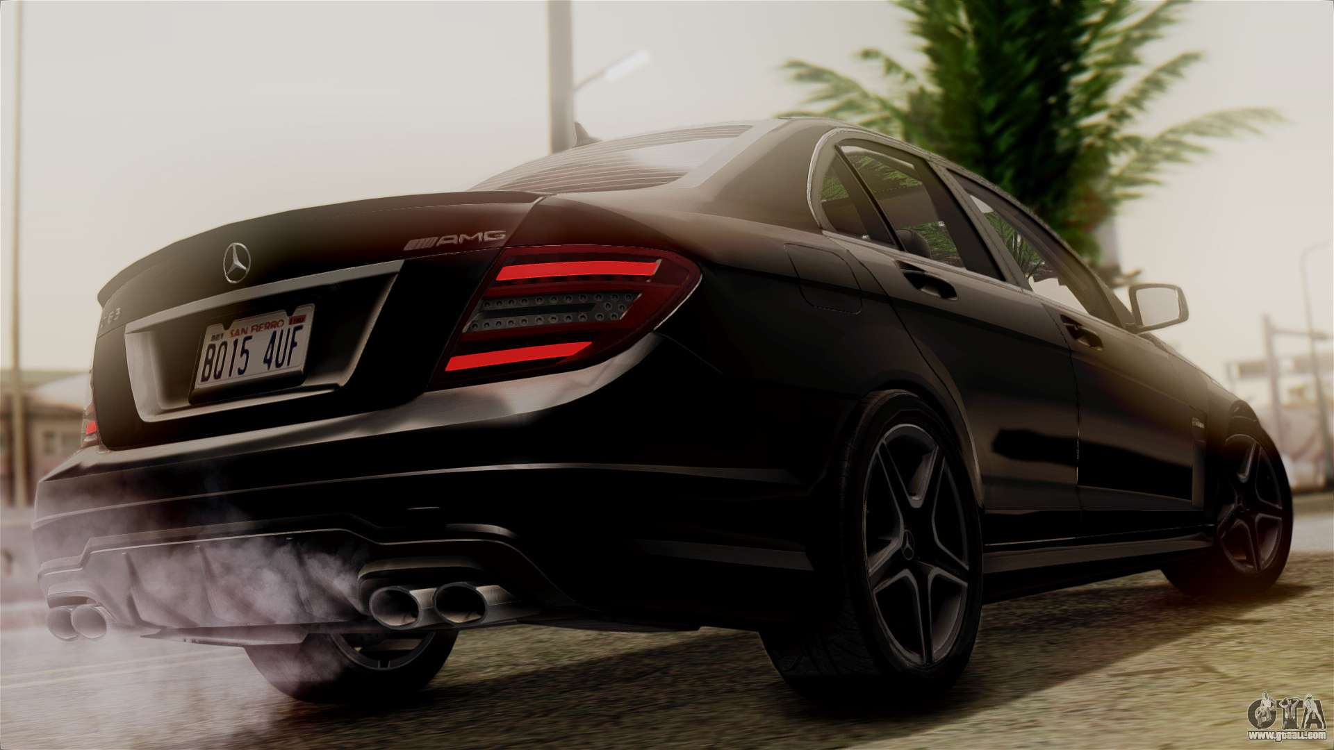mercedes benz c63 amg 2015 edition one for gta san andreas. Black Bedroom Furniture Sets. Home Design Ideas