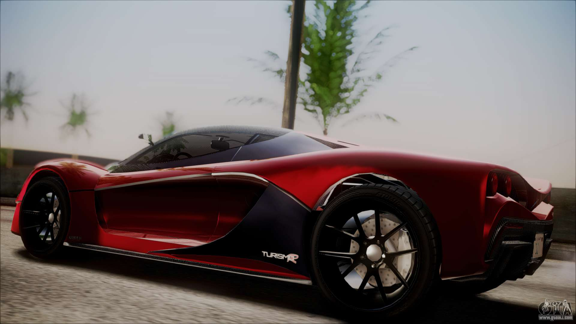 GTA 5 Grotti Turismo R IVF for GTA San Andreas
