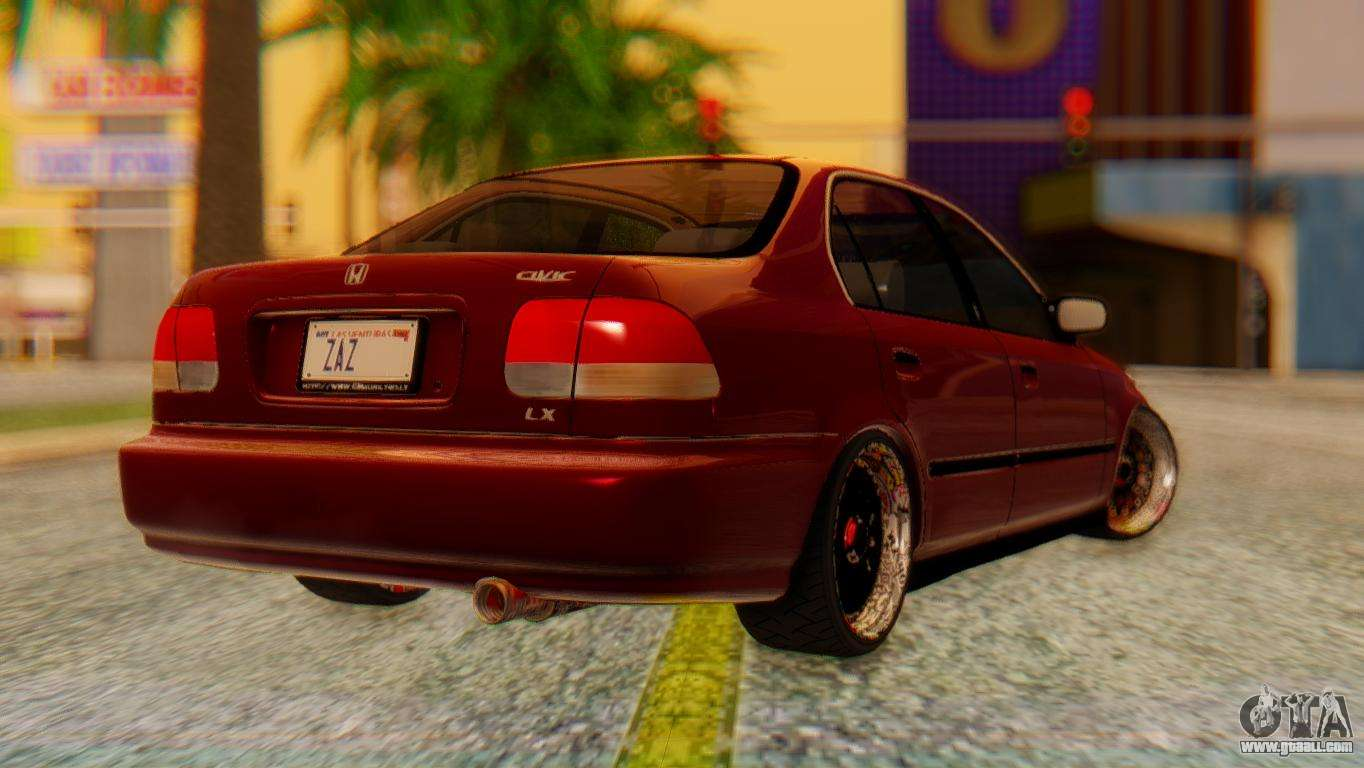 honda civic jnr tuning for gta san andreas. Black Bedroom Furniture Sets. Home Design Ideas