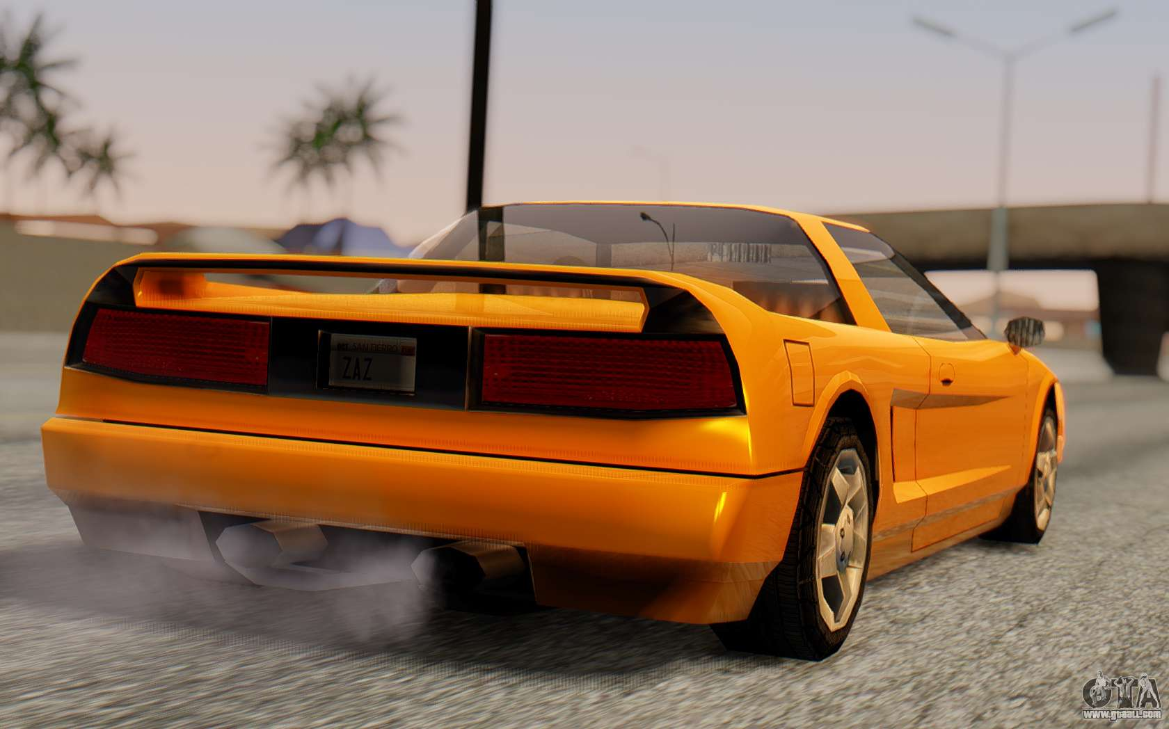 Infernus Hamann Edition Backup Standart For Gta San Andreas