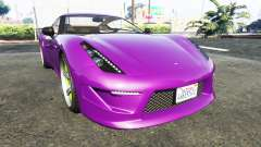 Grotti Carbonizzare Aston Martin Zagato V12 for GTA 5