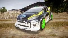 Ford Fiesta Gymkhana 3 Ken Block for GTA 4