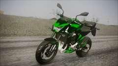 Kawasaki Z800 Monster Energy