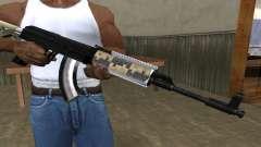 Cool Black AK-47 for GTA San Andreas