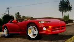 Dodge Viper RT 10 1992 for GTA San Andreas