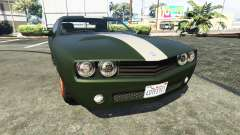 Bravado Gauntlet Dodge Challenger for GTA 5