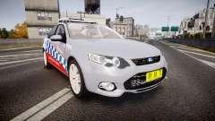 Ford Falcon FG XR6 Turbo Highway Patrol [ELS] for GTA 4