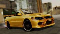 Mitsubishi Lancer Evolution 2015 for GTA San Andreas