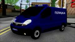 Opel Vivaro Policija for GTA San Andreas