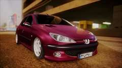 Peugeot 206 Al Piso for GTA San Andreas