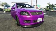 Declasse Asea Chevrolet Aveo for GTA 5