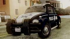 Volkswagen Beetle 1963 Policia Federal for GTA San Andreas
