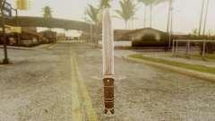 Iron Dagger for GTA San Andreas