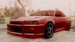 Nissan Skyline R34 SA Style for GTA San Andreas