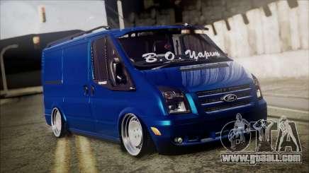 B. O. Ford Transit Construction for GTA San Andreas