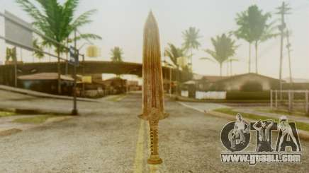 Dwarven Dagger for GTA San Andreas