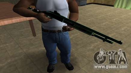 Green Guy Shotgun for GTA San Andreas