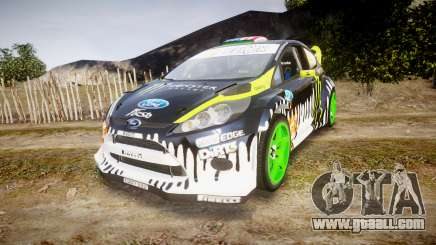Ford Fiesta Gymkhana 3 Ken Block for GTA 4