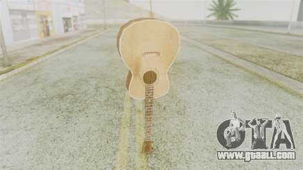 Red Dead Redemption Guitar for GTA San Andreas