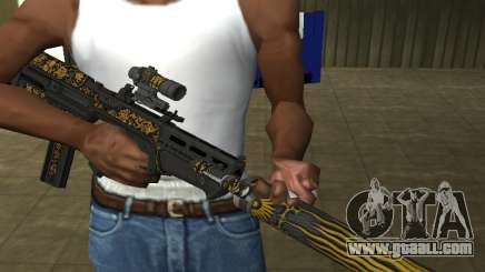 GTA 5 M4 for GTA San Andreas