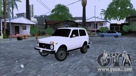 VAZ 2121 Niva 4x4 for GTA San Andreas