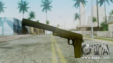 Silenced M1911 Pistol for GTA San Andreas