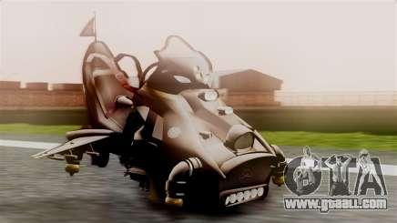 NRG Moto Jet Buzz Dirt Model for GTA San Andreas