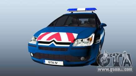 Citroen C4 Gendarmerie [ELS] for GTA 4