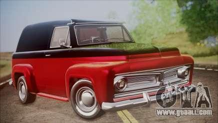 GTA 5 Vapid Slamvan IVF for GTA San Andreas