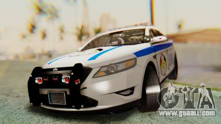 Ford Taurus Iraq Police v2 for GTA San Andreas