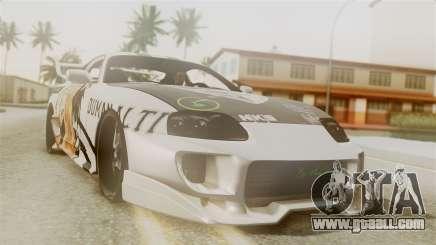 Toyota Supra Full Tuning for GTA San Andreas