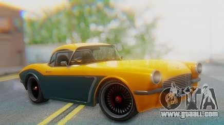 Invetero Coquette BlackFin Not Convertible for GTA San Andreas