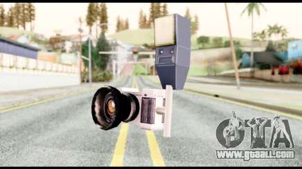 The camera for GTA San Andreas