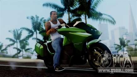 Dinka Vindicator GTA 5 Plate for GTA San Andreas