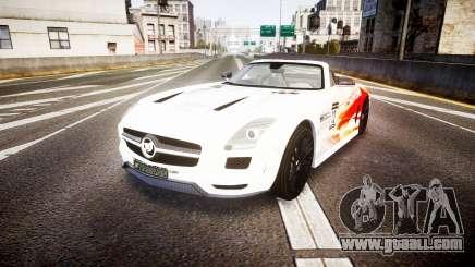 Mercedes-Benz SLS AMG for GTA 4