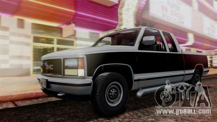 GMC Sierra 2500 Extended Cab 1992 for GTA San Andreas