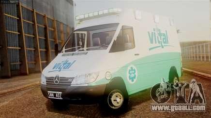 Mercedes-Benz Sprinter Ambulance Vittal for GTA San Andreas