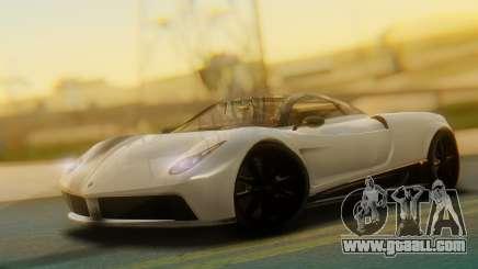 GTA 5 Pegassi Osiris IVF for GTA San Andreas