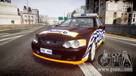 Ford Falcon BA XR8 Highway Patrol [ELS] for GTA 4