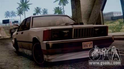 Sentinel XS for GTA San Andreas