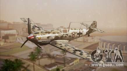 Messerschmitt BF-109 E3 for GTA San Andreas