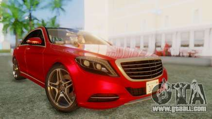 Mercedes-Benz S63 W222 AMG for GTA San Andreas