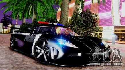 NFS Rivals Koenigsegg Agera R v2.0 for GTA San Andreas