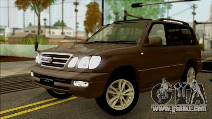 Toyota Land Cruiser Cygnus for GTA San Andreas