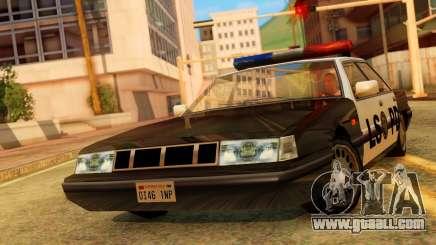 Police LS Intruder for GTA San Andreas